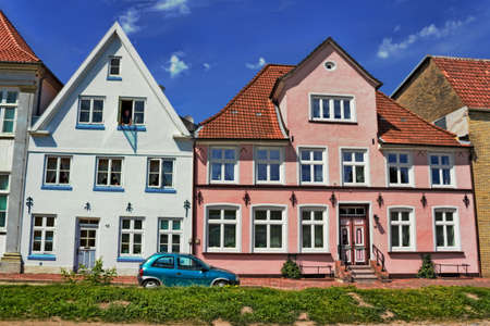 gabled house: renovated houses