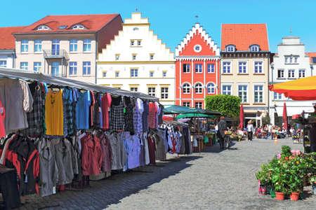 urban redevelopment: Greifswald Market Square