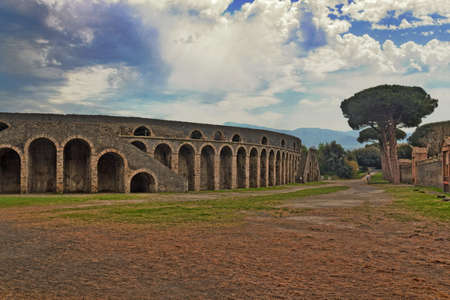 amphitheatre: Pompei Amphitheatre