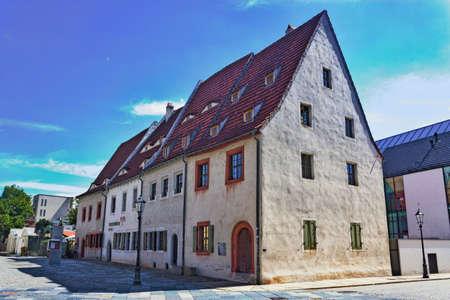 gabled house: Zwickau Priests Houses