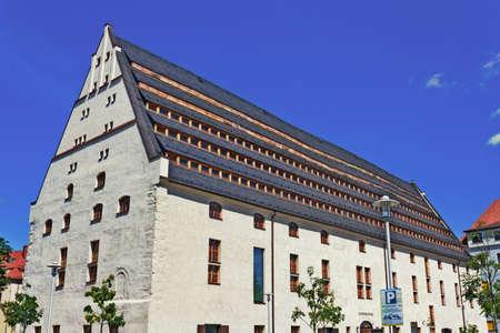 house gables: Zwickau City Library Editorial