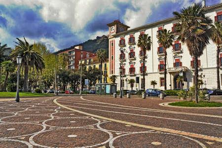town idyll: Salerno Stock Photo