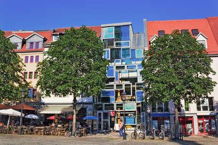 town idyll: Jena Market Place Editorial