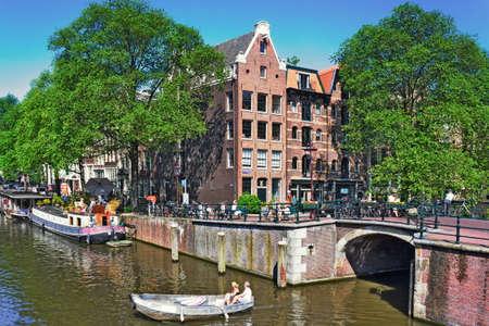 gabled house: Amsterdam