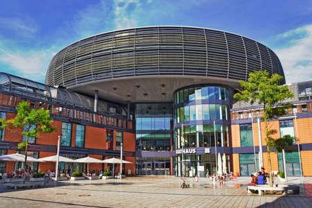 living idyll: Leverkusen City Hall Square