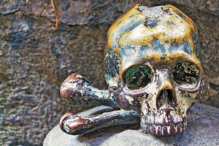 eye socket: deaths head