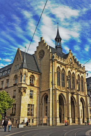 town halls: Erfurt City Hall Editorial