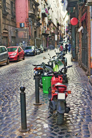naples: Naples alleyway
