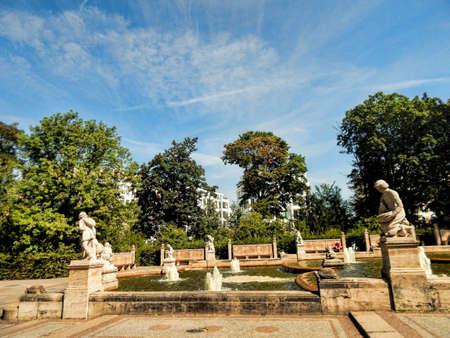 town idyll: Berlin Fairy Tale Fountain