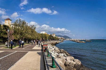 lakefront: Salerno Stock Photo