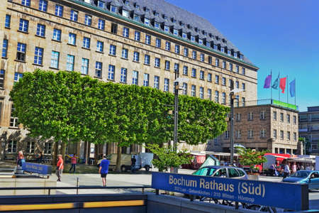 town halls: Bochum City Hall Editorial