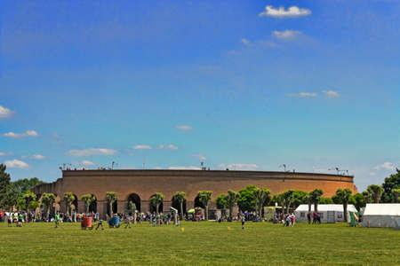 circuses: Xanten Amphitheater Stock Photo