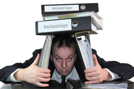 asylum: asylum applications Stock Photo