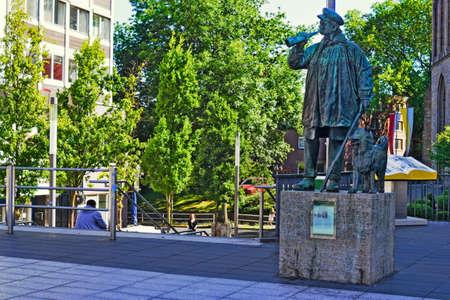 town idyll: Cowherd Memorial Editorial