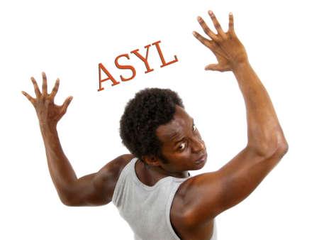 seekers: Asylum Stock Photo