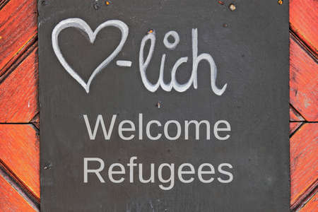 refugees: Welcome Refugees