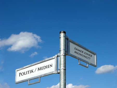 opinion: Politics  Media - Always an opinion