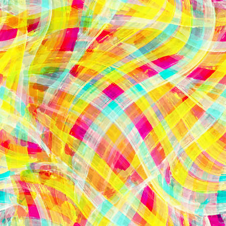 dabs: Colorful watercolor brush strokes background. Seamless texture.
