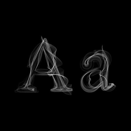 Letter A illustratie alfabet Stock Illustratie