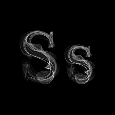 Letter S illustration alphabet