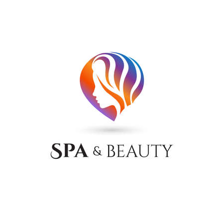 brands: Spa and Beauty company logo. Vector illustration Illustration