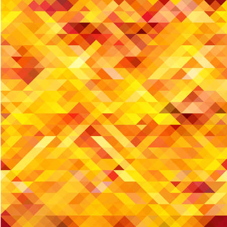 pattern background: Abstract seamless orange, yellow and red pattern. Mosaic Vector.