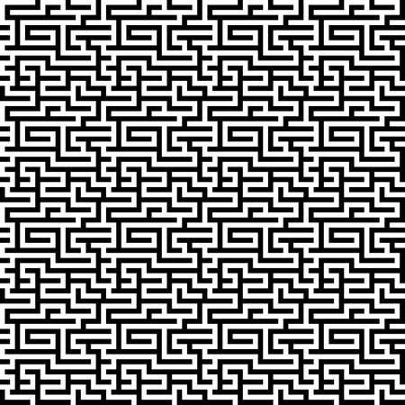 endless: The maze, labyrinth pattern endless, seamless. Vector