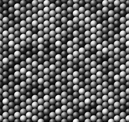 Seamless vector texture -  bubbles of grey and white colors
