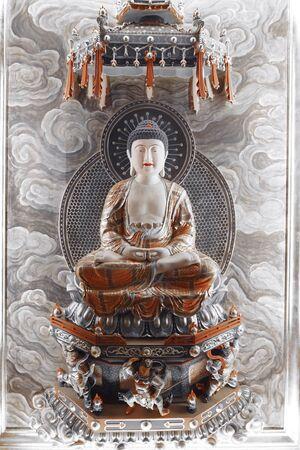 chinese buddha: Chinese buddha statue