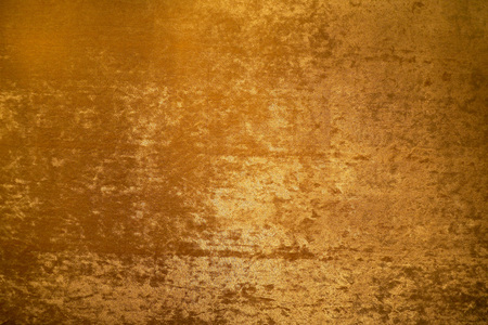 Gold colour velvet fabric background texture Standard-Bild