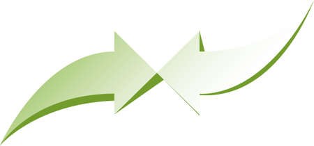 An arrow icon that expresses directing and drawing attention to a certain point in all kinds of visual designs.