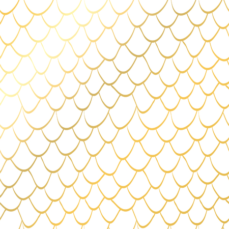 seamless texture scales gold Glitter mermaid tail seamless pattern Tillable background for girl fabric, textile design, wrapping paper, swimwear or wallpaper. White mermaid background with fish skin