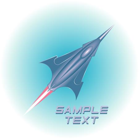 aerospace: Aviation Icon. Illustration