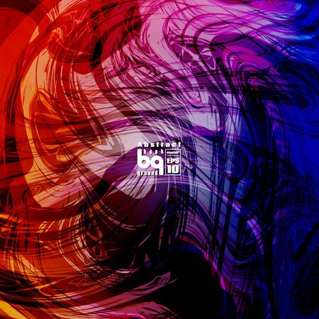 Background abstract, futuristic infinity, conceptual design