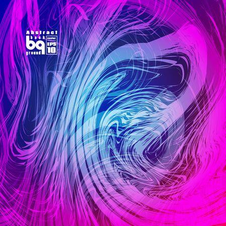 Vector design colored abstract background, futuristic  illustration, glitch Illustration