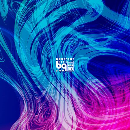 nirvana: Vector design colored abstract background, futuristic  illustration