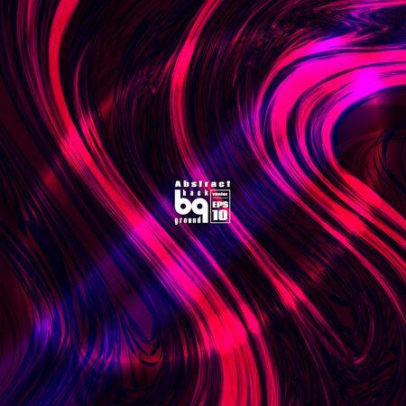Vector design colored abstract background, futuristic  illustration, glitch, infinity