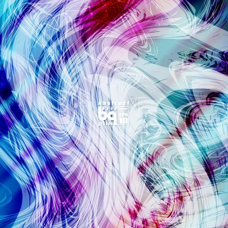 brilliancy: Vector design, colored abstract background, futuristic  illustration, glitch, infinity, rainbow