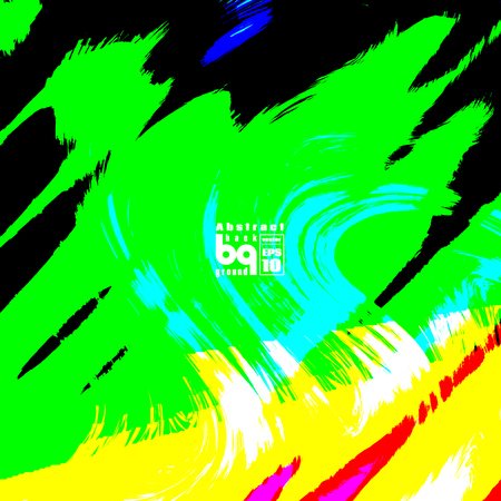 brilliancy: Vector illustration, futuristic colorful texture, abstract  background, glitch