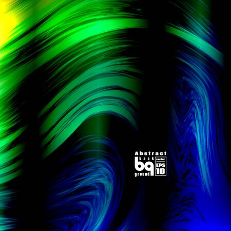nirvana: Vector illustration, futuristic colorful texture, abstract  background, glitch