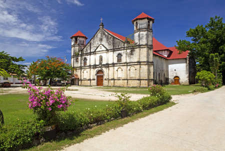 14577600-san-nicholas-catholic-church-in-dimiao-town-bohol-island-philppines - Dimiao's very interesting history - Dimiao - Bohol