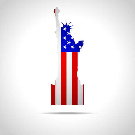 qualify: Independence Day 4 july america vector Illustration