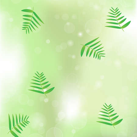 vegetation: leaf vegetation bokeh background vector