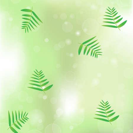 greenness: leaf vegetation bokeh background vector