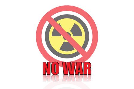 no war icon vector design Illustration