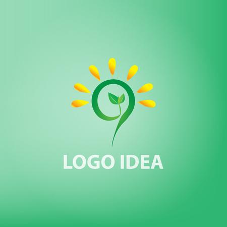 logo Idea concept,idea,vector Illustration