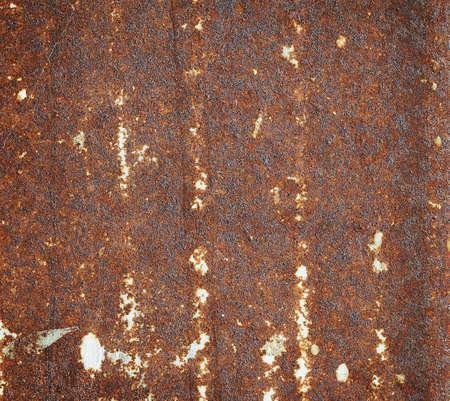Rusted sheet of metal Фото со стока