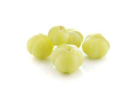 star gooseberry isolated on white background Фото со стока