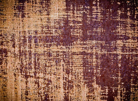 rusted: Rusted sheet of metal Stock Photo