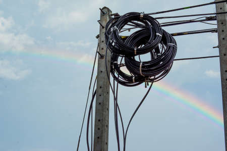 Cable optic photo